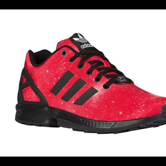 "uk availability 81d2e d2a28 ADIDAS ZX FLUX ""RED GALAXY"""